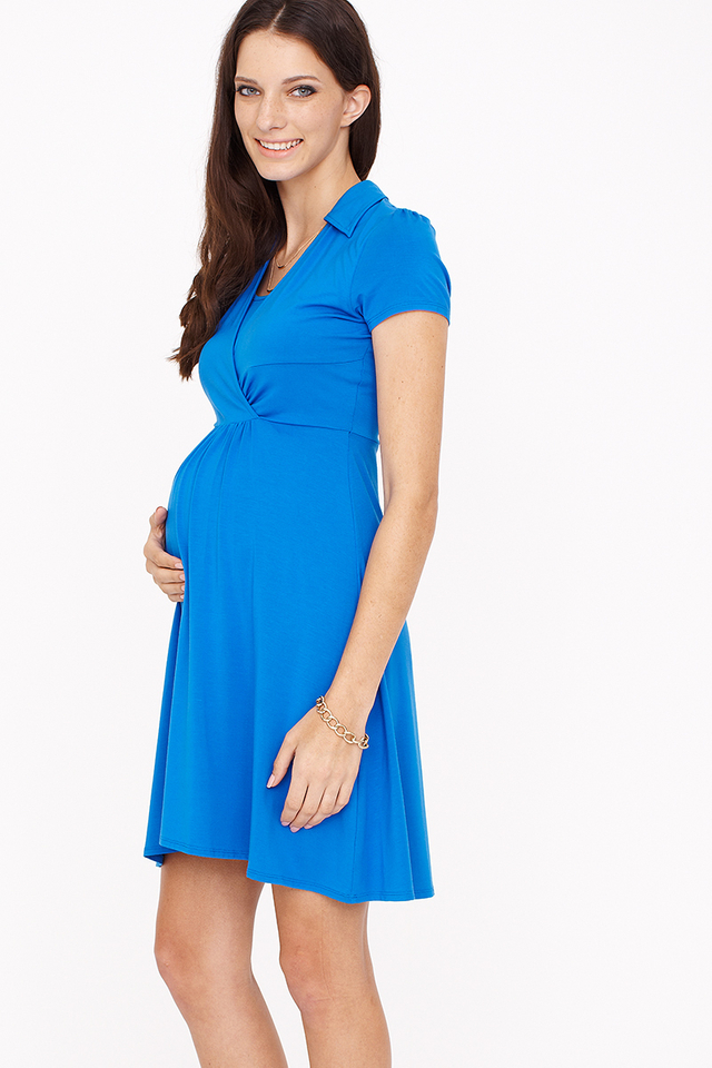 Catherine Dress Royal Blue
