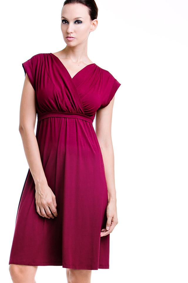 Twinkle Dress Wine