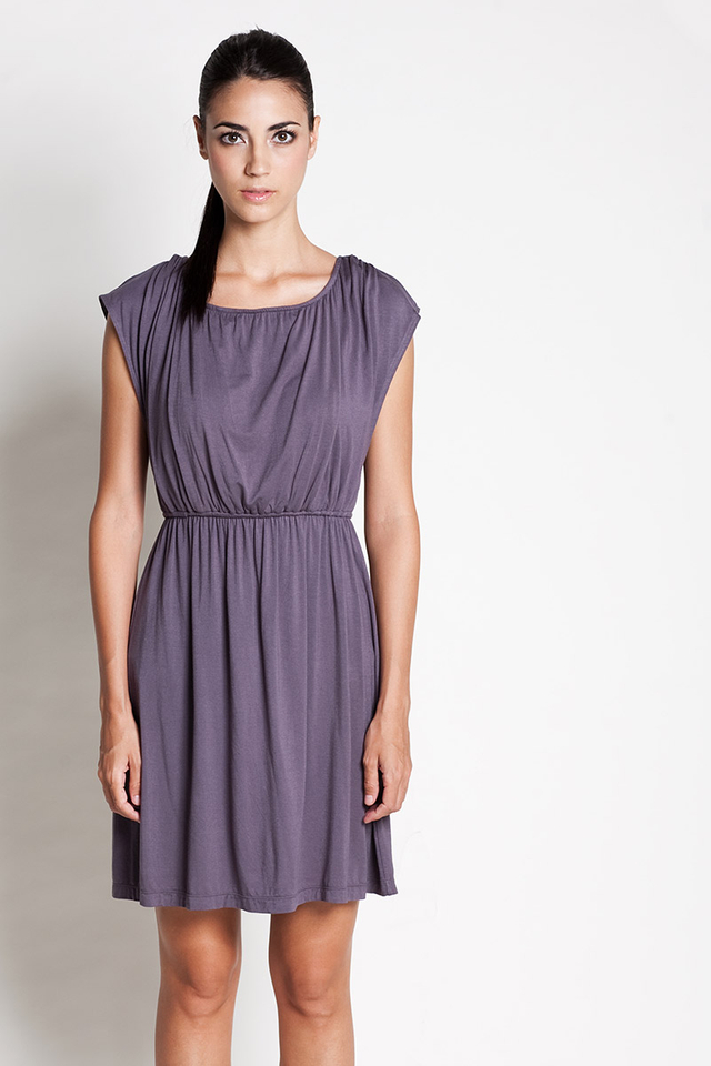 Noir Dress Grey