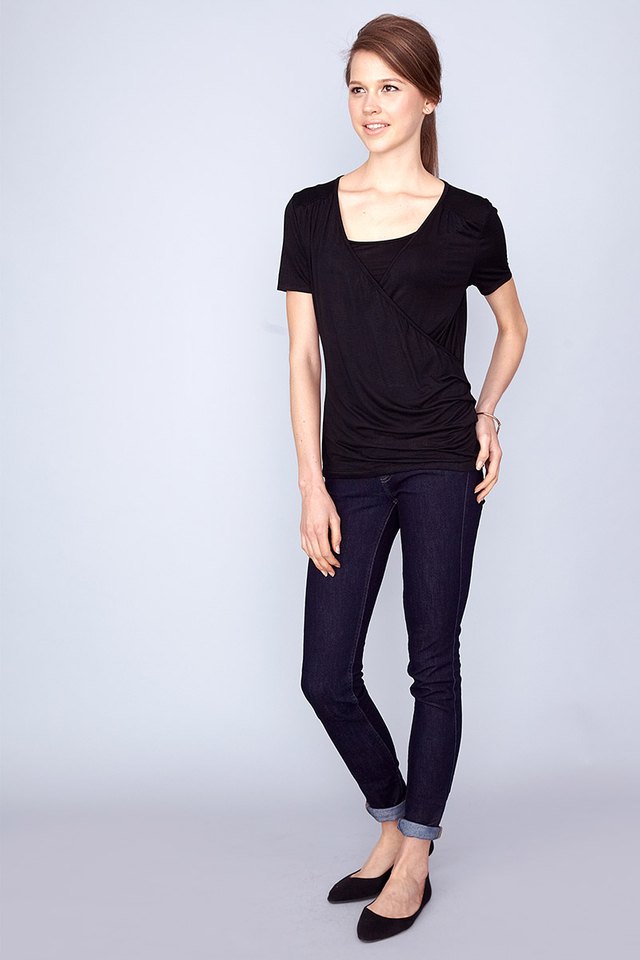 Abigail Top Black