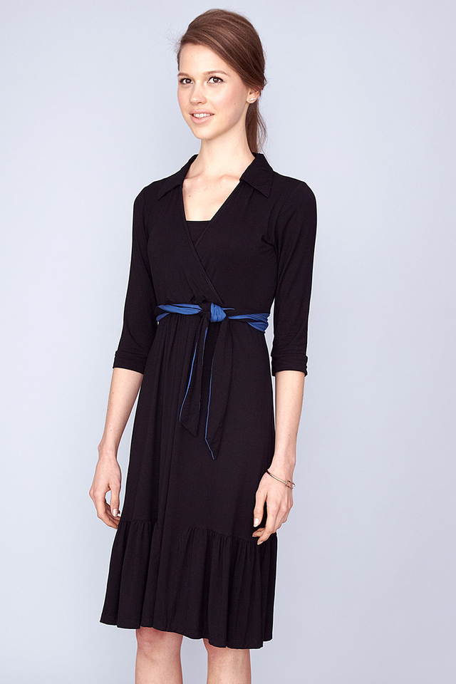 Mallory Shirtdress Black