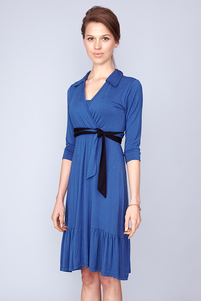 Mallory Shirtdress Blue