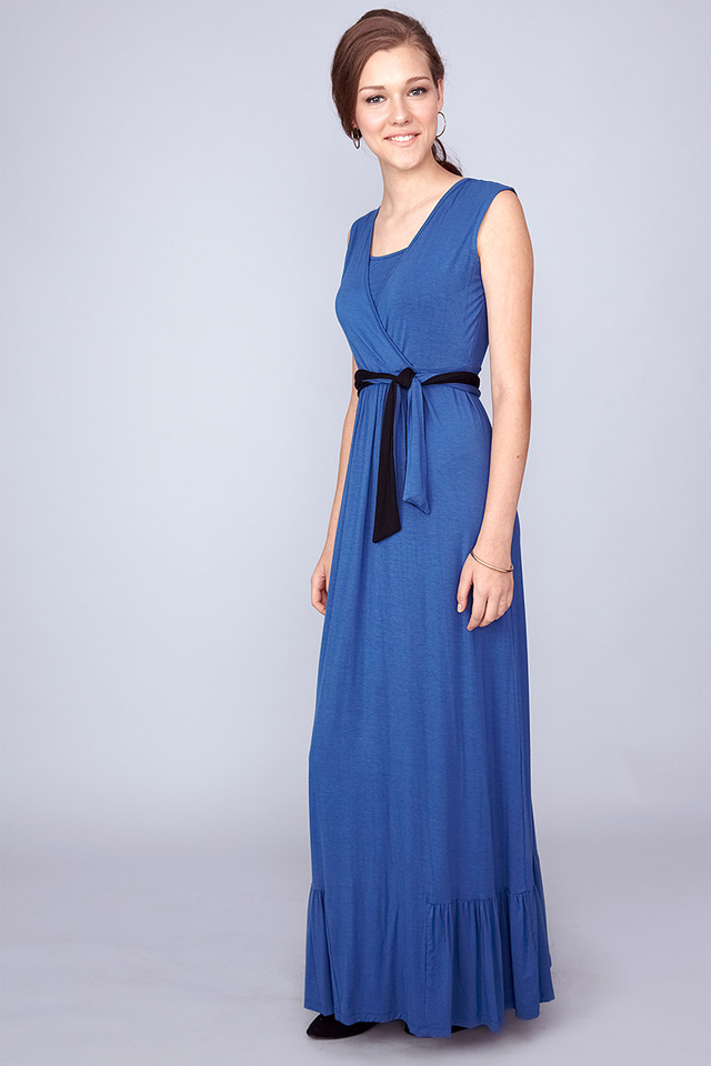 Billie Maxi Dress Blue
