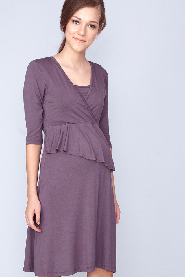 Iris Dress Grey