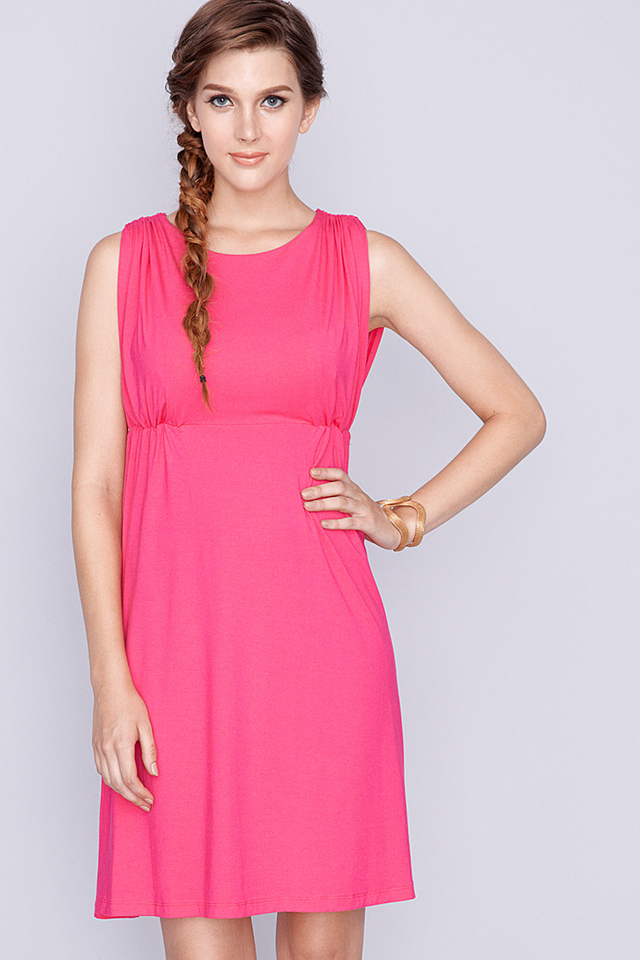Celine Dress Fuchsia