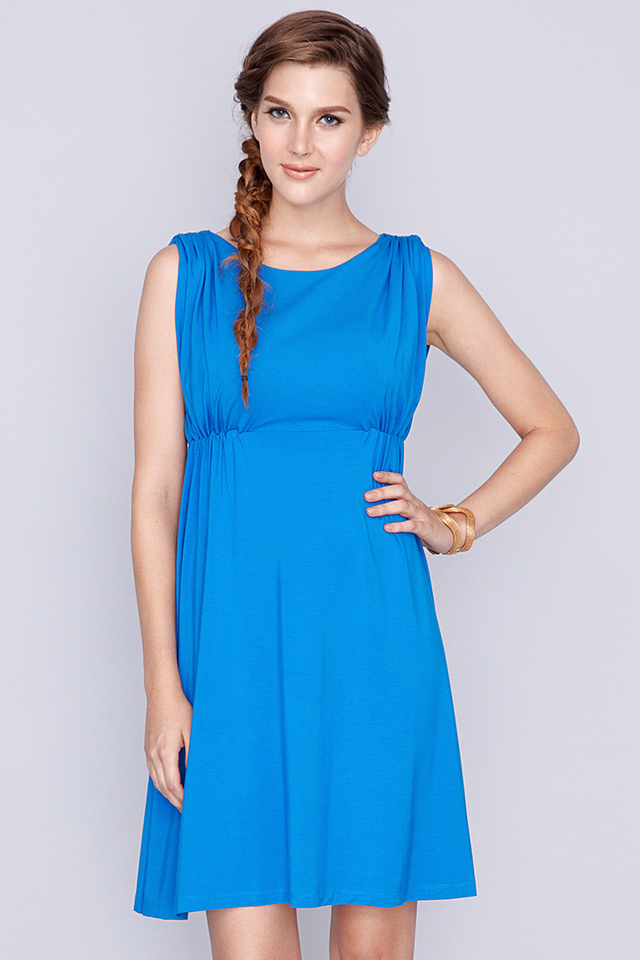 Celine Dress Royal Blue