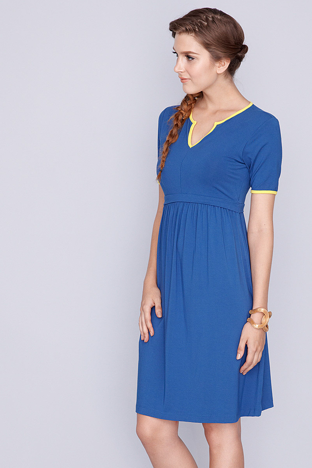 Linda Dress Blue
