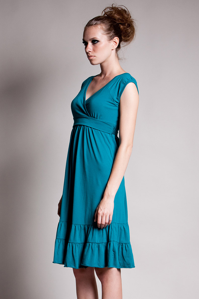 9th Street Dress Turquoise