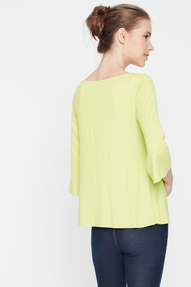 Layla Top Lime Green
