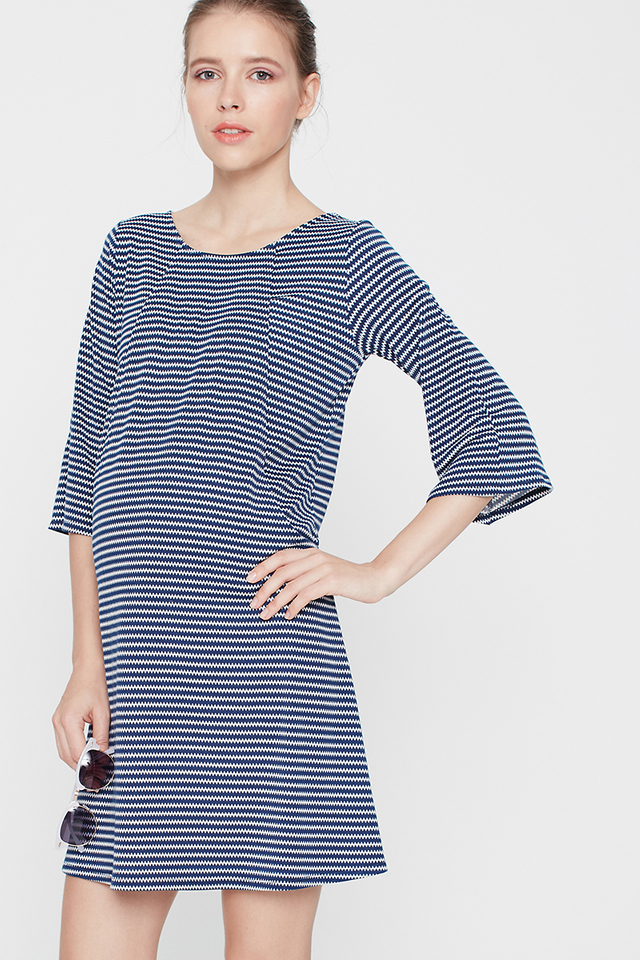 Orla Dress Z/Z Navy