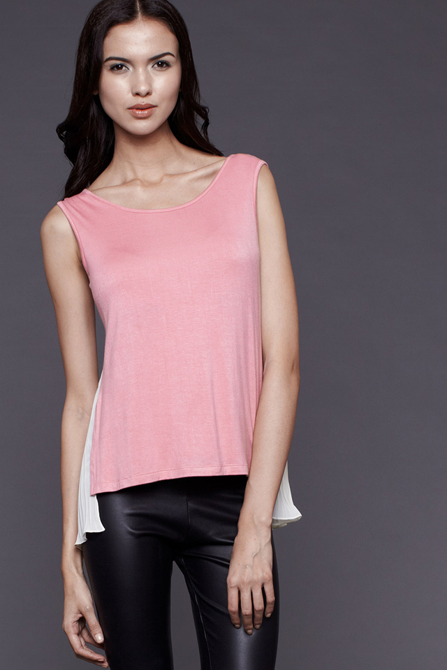 Crystal Top Pink/Cream