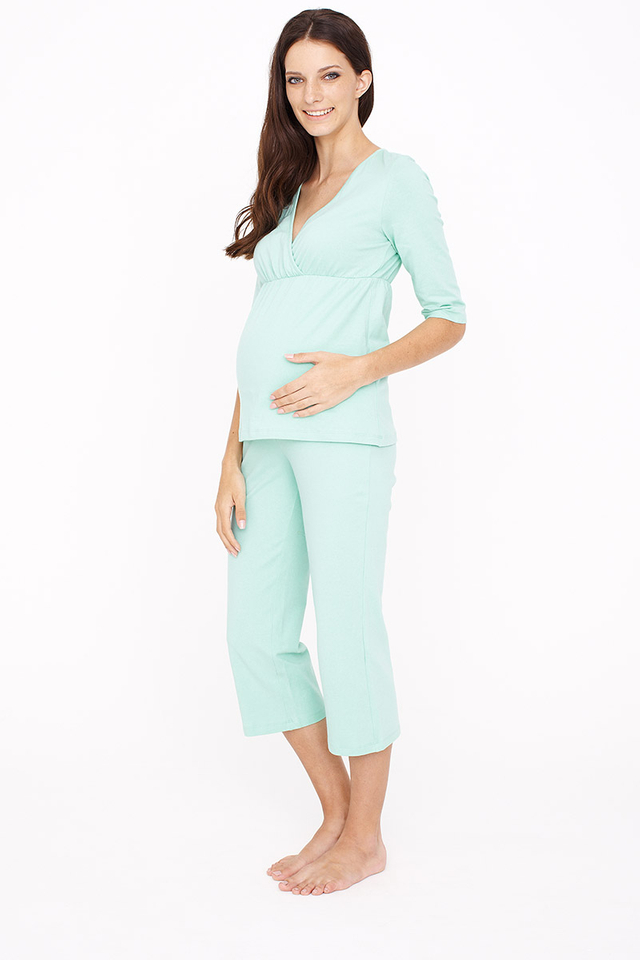 3/4 Sleeve Pyjamas Mint