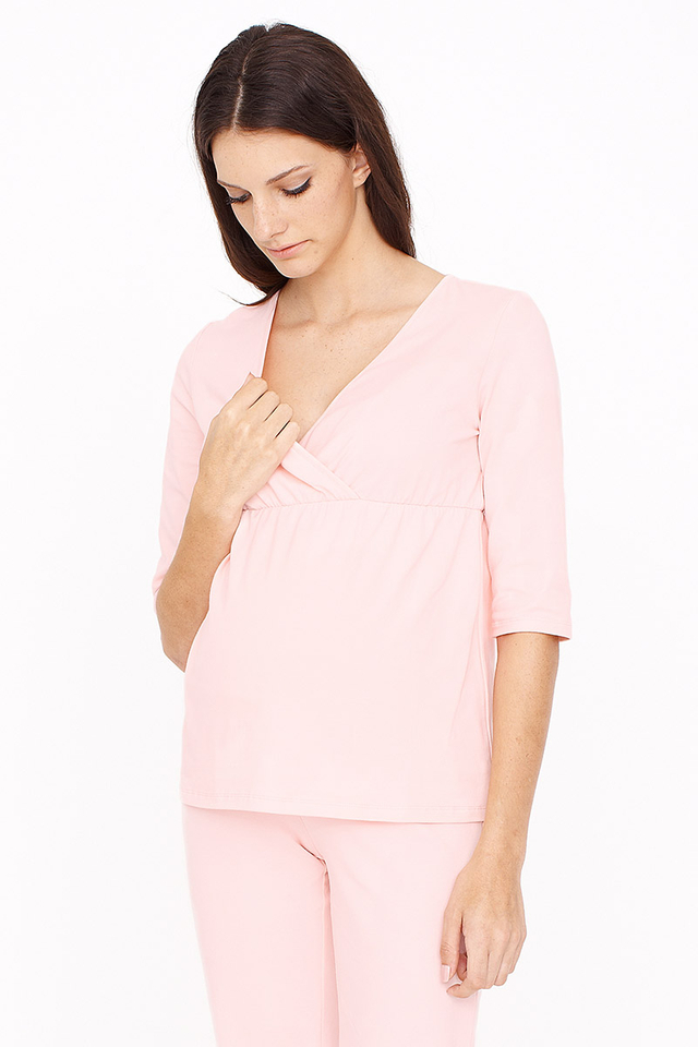3/4 Sleeve Pyjamas Pink