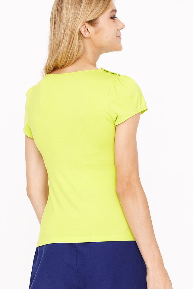Bailey Top Lime Green