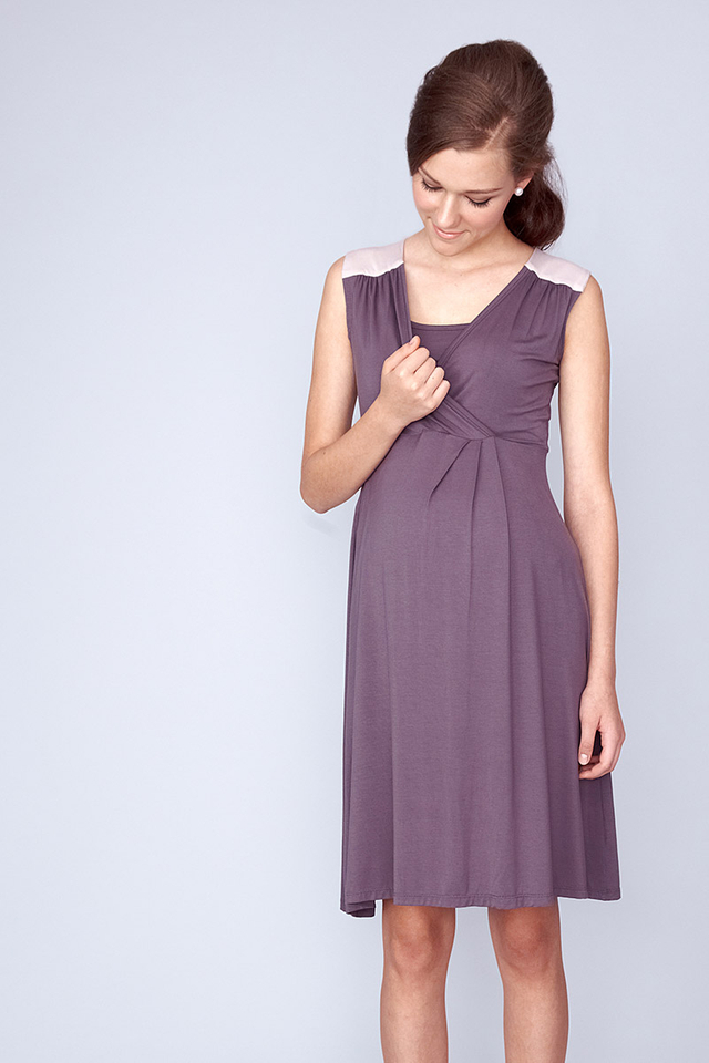 Phoebe Dress Grey