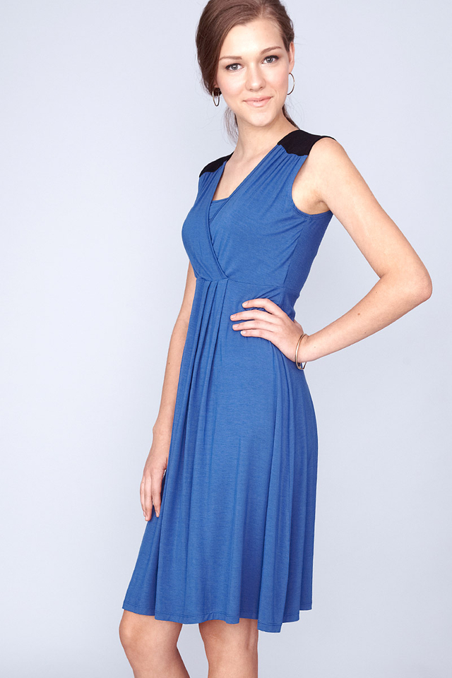 Phoebe Dress Blue