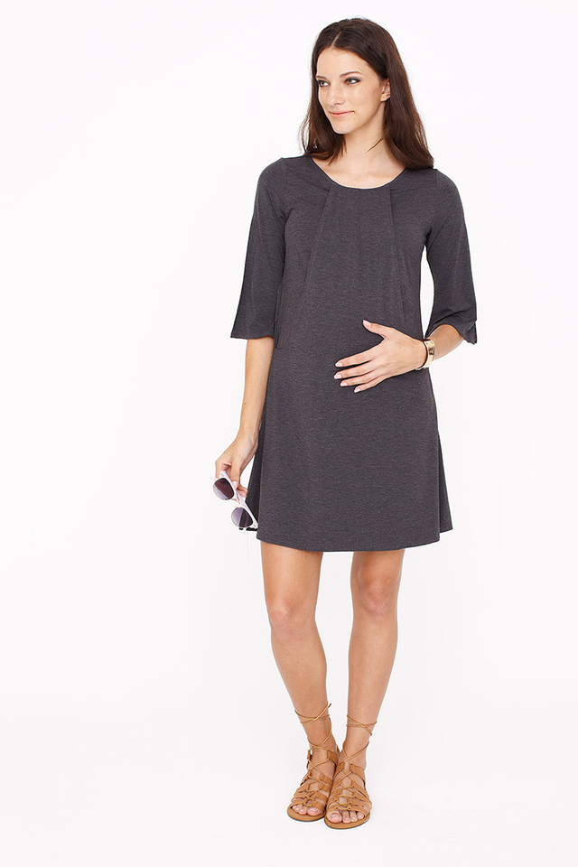 Orla Dress Dark Grey