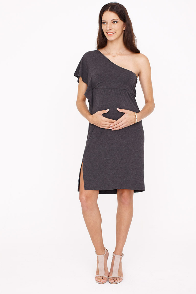 Blair Dress Dark Grey
